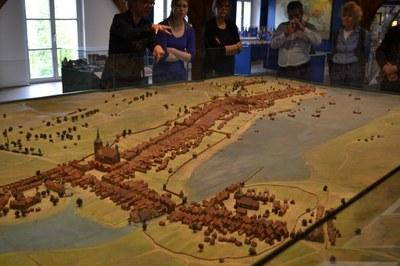 Modell von Flensburg in der Frühen Neuzeit