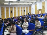 Zuhörer beim Vortrag Transculturality an der BSU