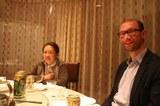 Abendessen an der BSU, Michael Roth und die Prodekanin